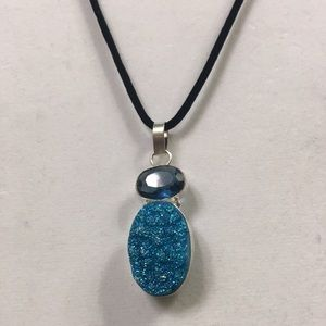 Beautiful Blue Stone Pendant